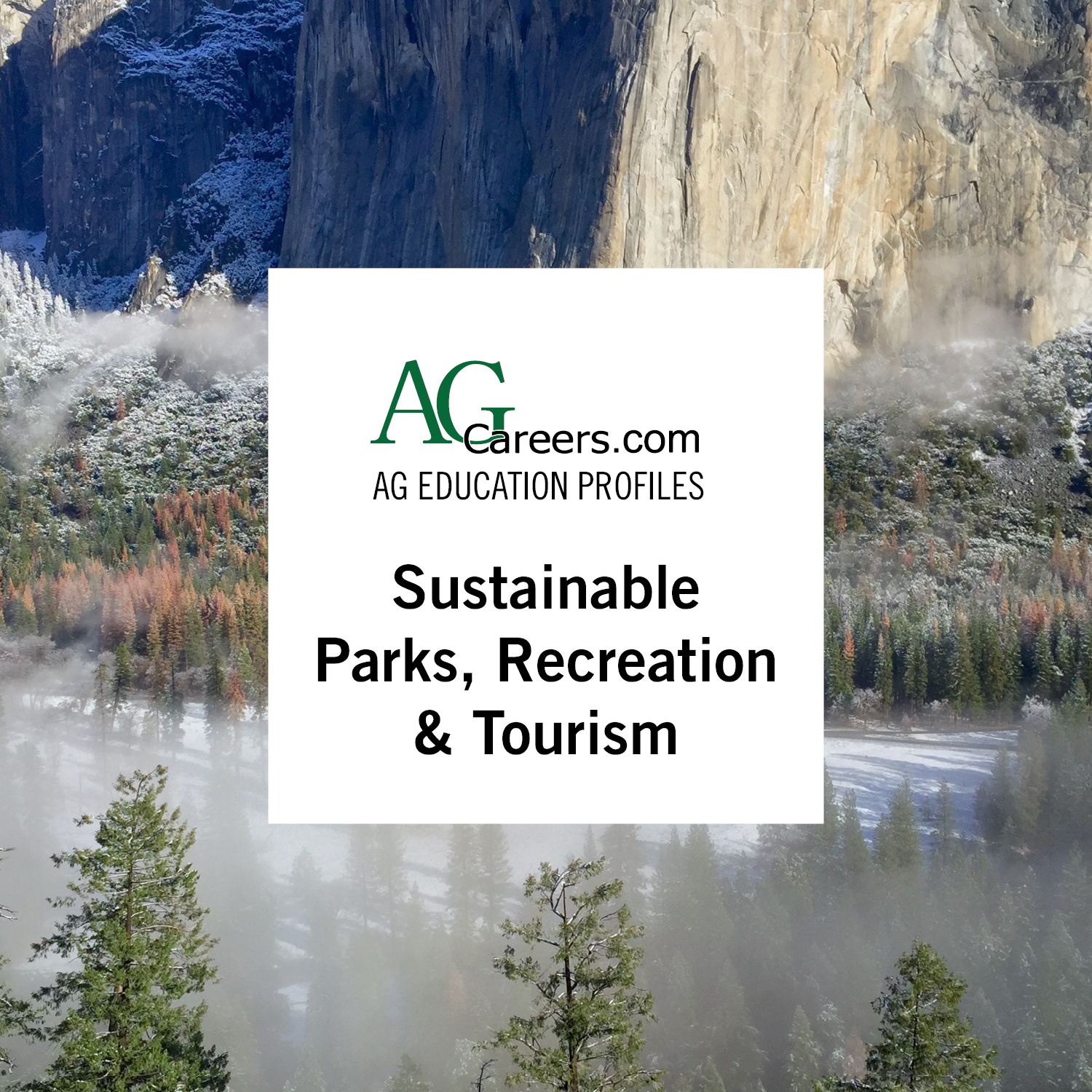 sustainable parks, recreation and tourism